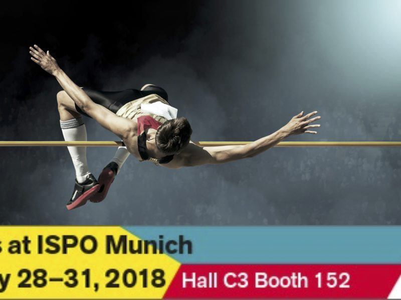 Come visit us at ISPO: Hall C3 Booth 152