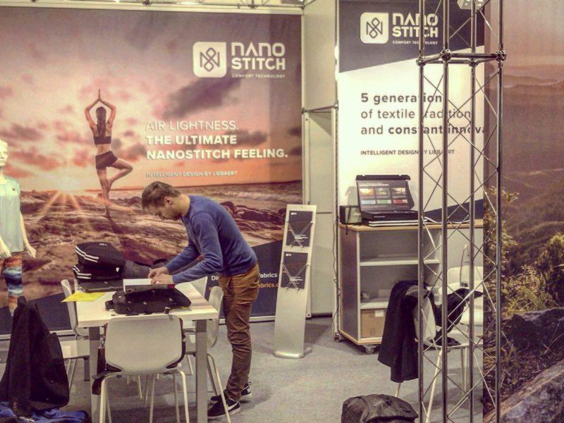 Nanostitch fabrics at ISPO Munich: A successful launch
